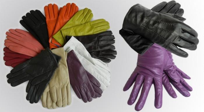 Elegantné kožené rukavice zateplené kožušinkou pre dámy aj pánov.