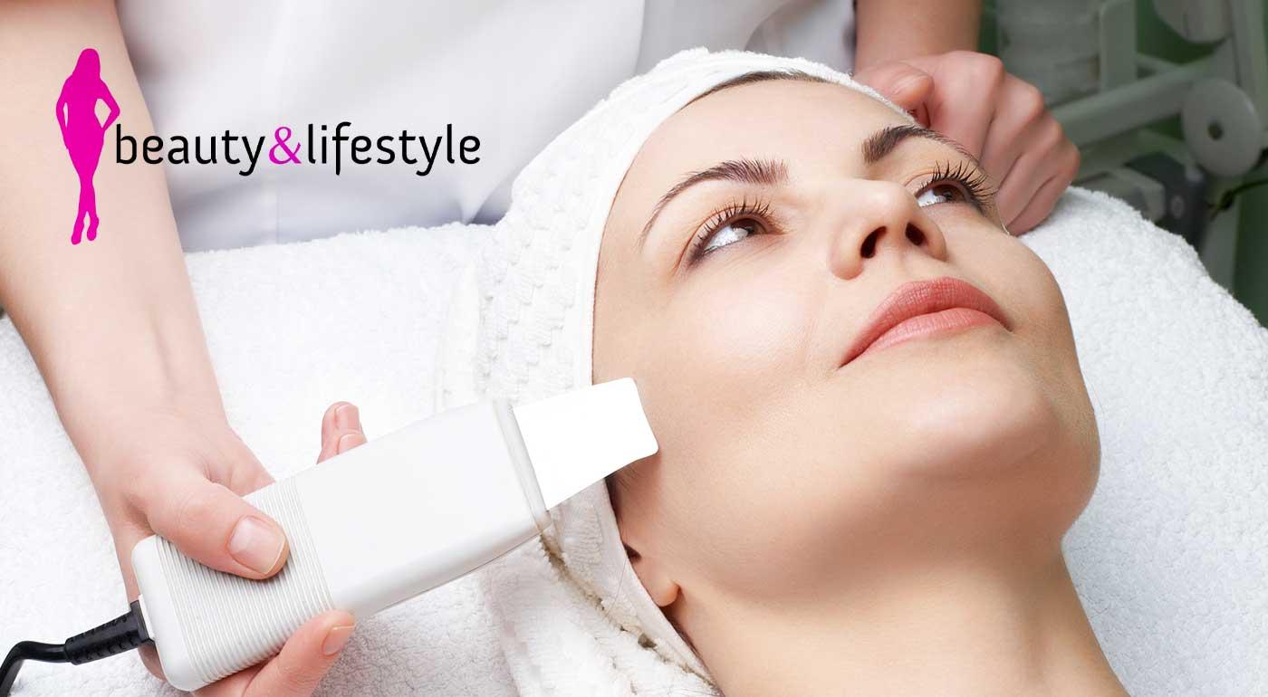 Hĺbkové čistenie pleti ultrazvukom v salóne krásy Beauty & Lifestyle