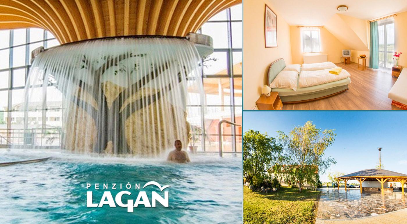 Wellness relax blízko termálneho kúpaliska v Podhájskej a Rímskych kúpeľov!