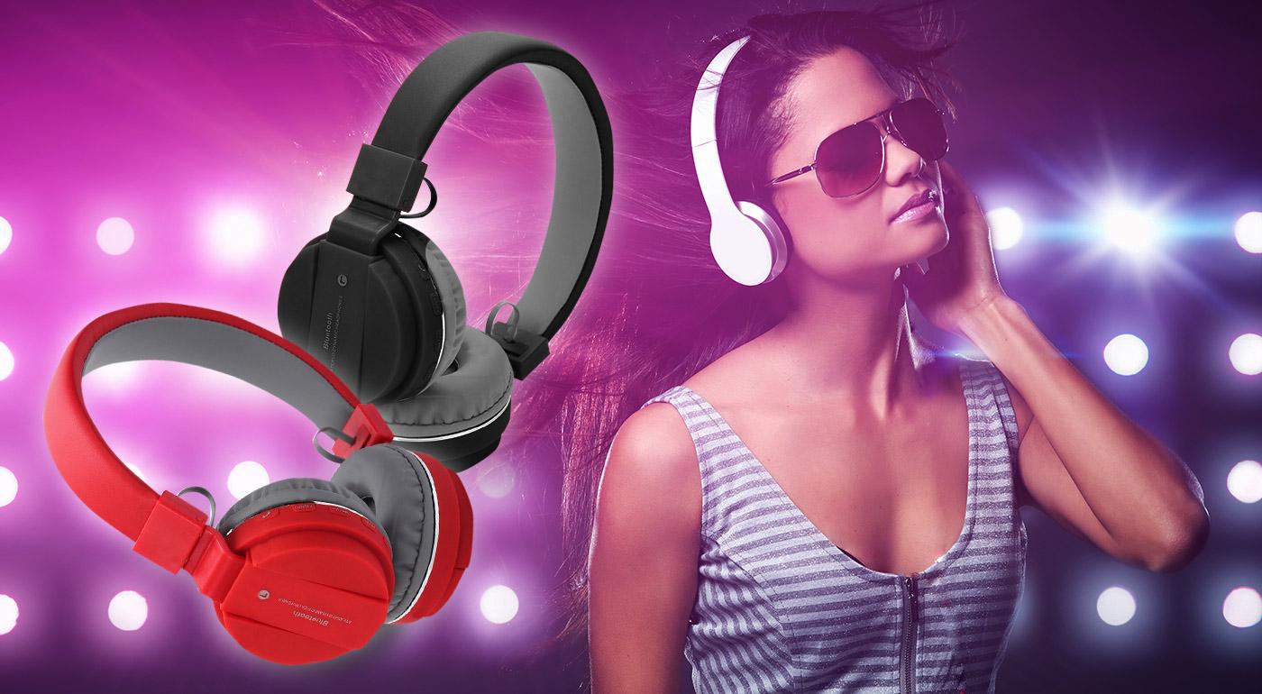 Perfektné bezdrôtové slúchadlá - kvalitný zvuk a výdrž až 10 hodín!