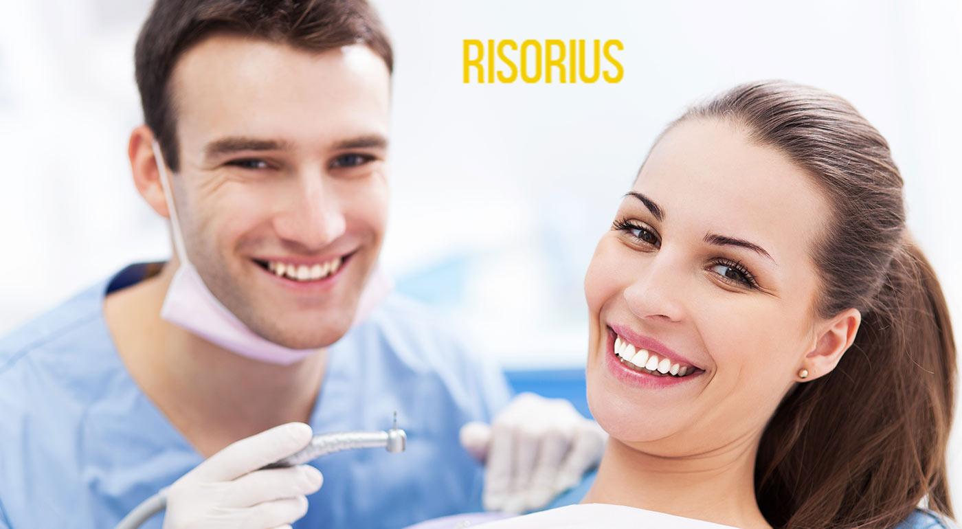 Bezbolestné vyšetrenie zubov v Risorius dental care v Bratislave