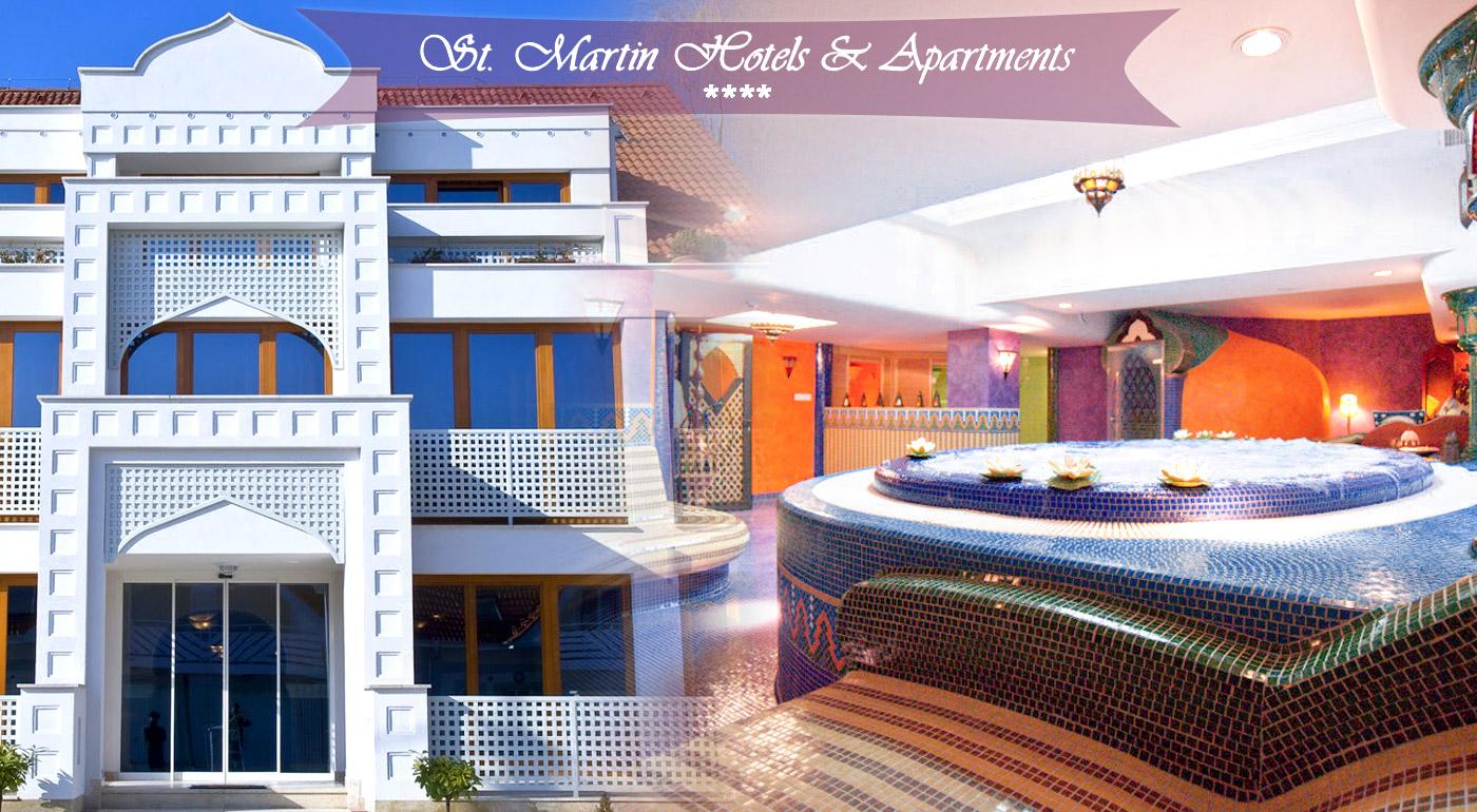 Wellness pobyt pre dvoch v luxusnom St. Martin Hotels Apartments**** v Maďarsku
