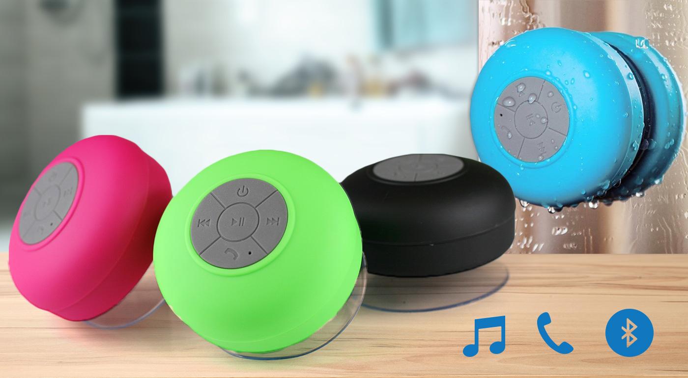 Perfektný bluetooth reproduktor do sprchy - kvalitná hudba a žiadne kábliky!
