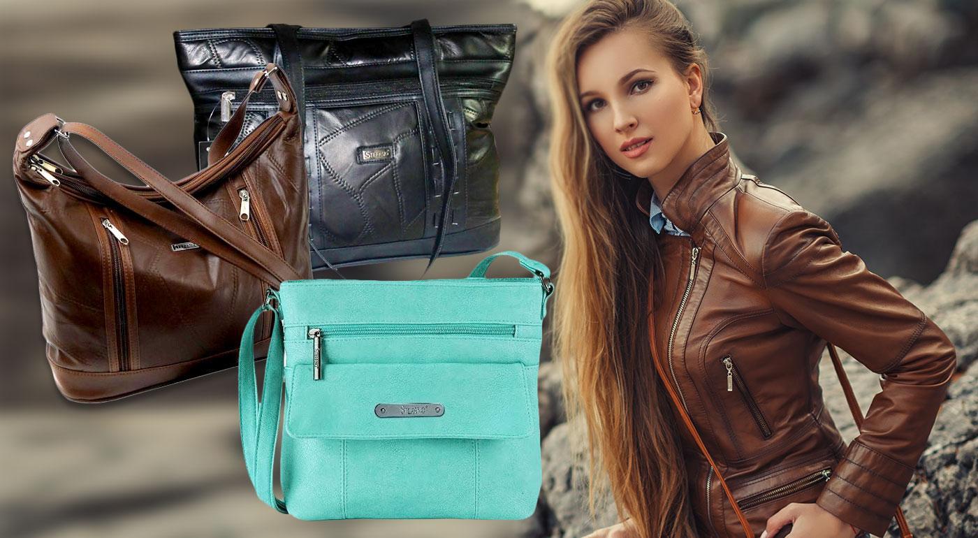 Dámske kabelky z pravej kože od talianskej značky Guido Banini