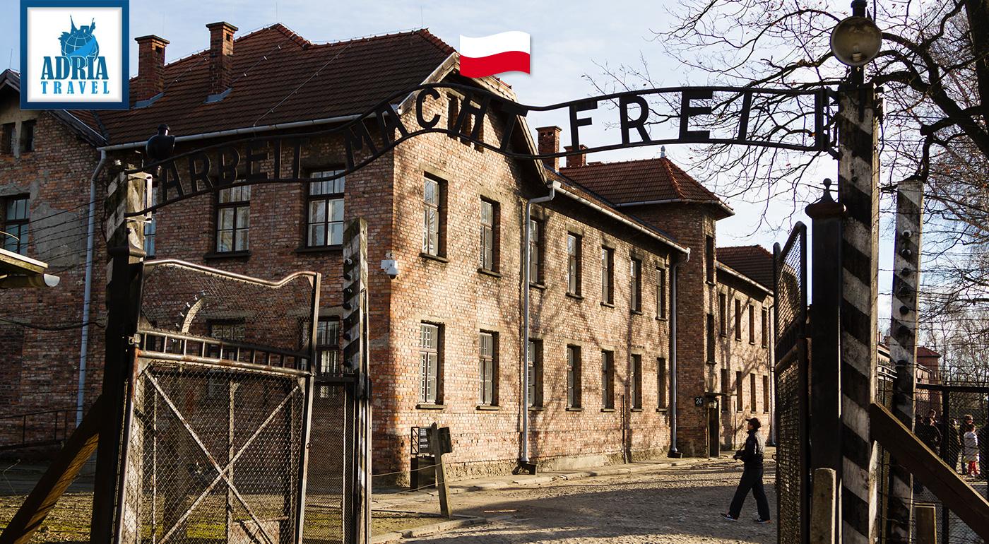 Zájazd plný emócií - Osvienčim, Brezinka a historické pamiatky Krakova