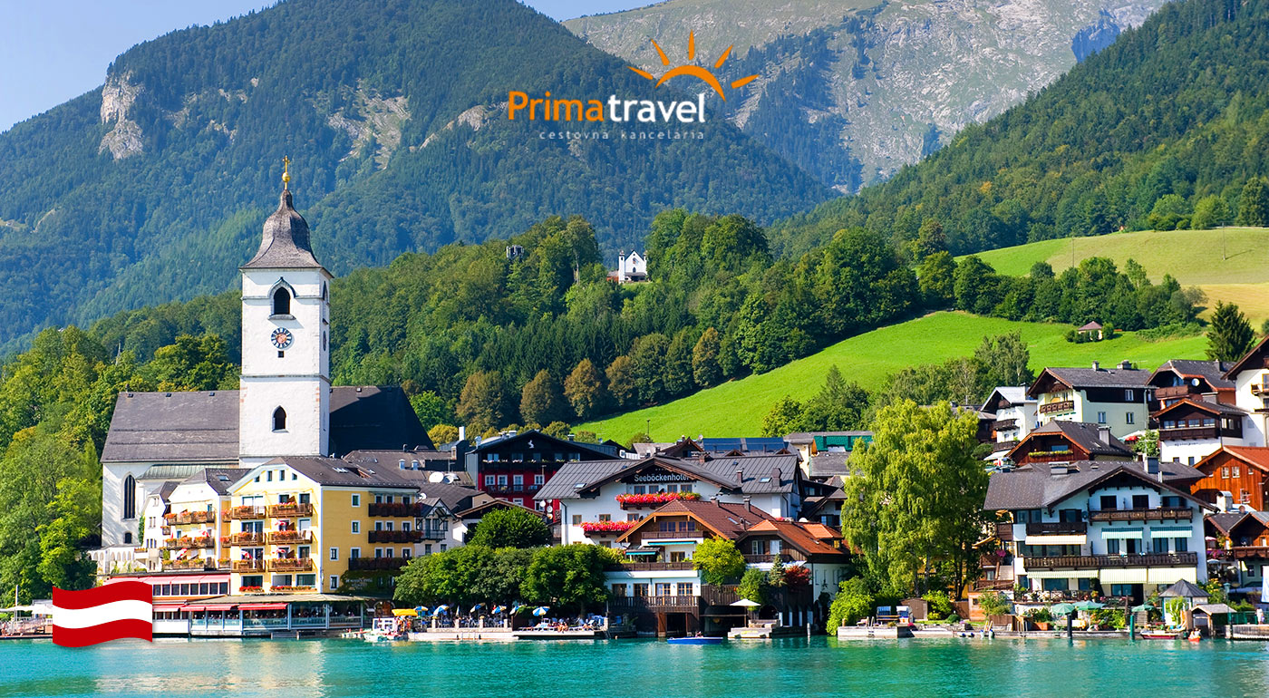 Dvojdňový zájazd za klenotmi Rakúska - Salzburg, Hellbrunn, Hallstat či plavba po Wolfgangsee