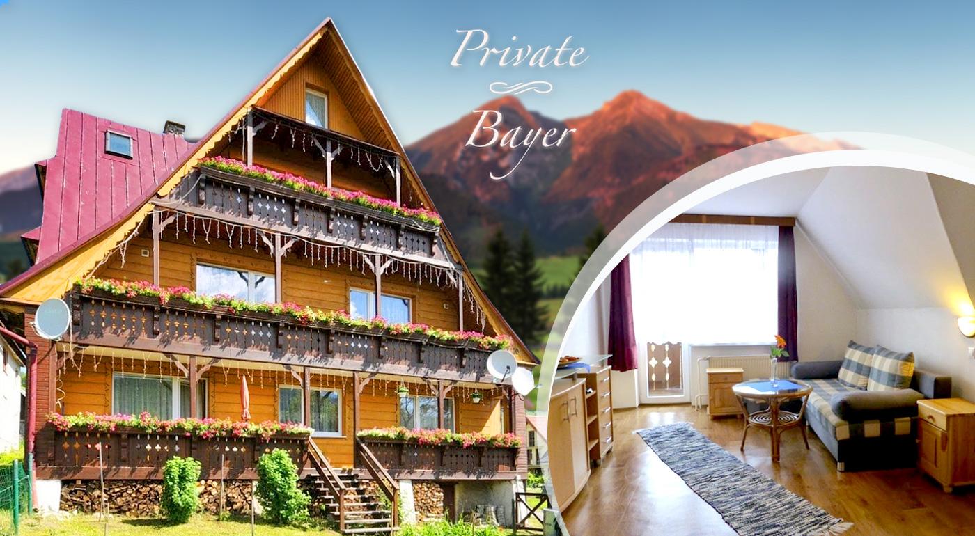 Užite si Tatry po tatransky - ubytovanie v nádhernom Penzióne Bayer v Ždiari