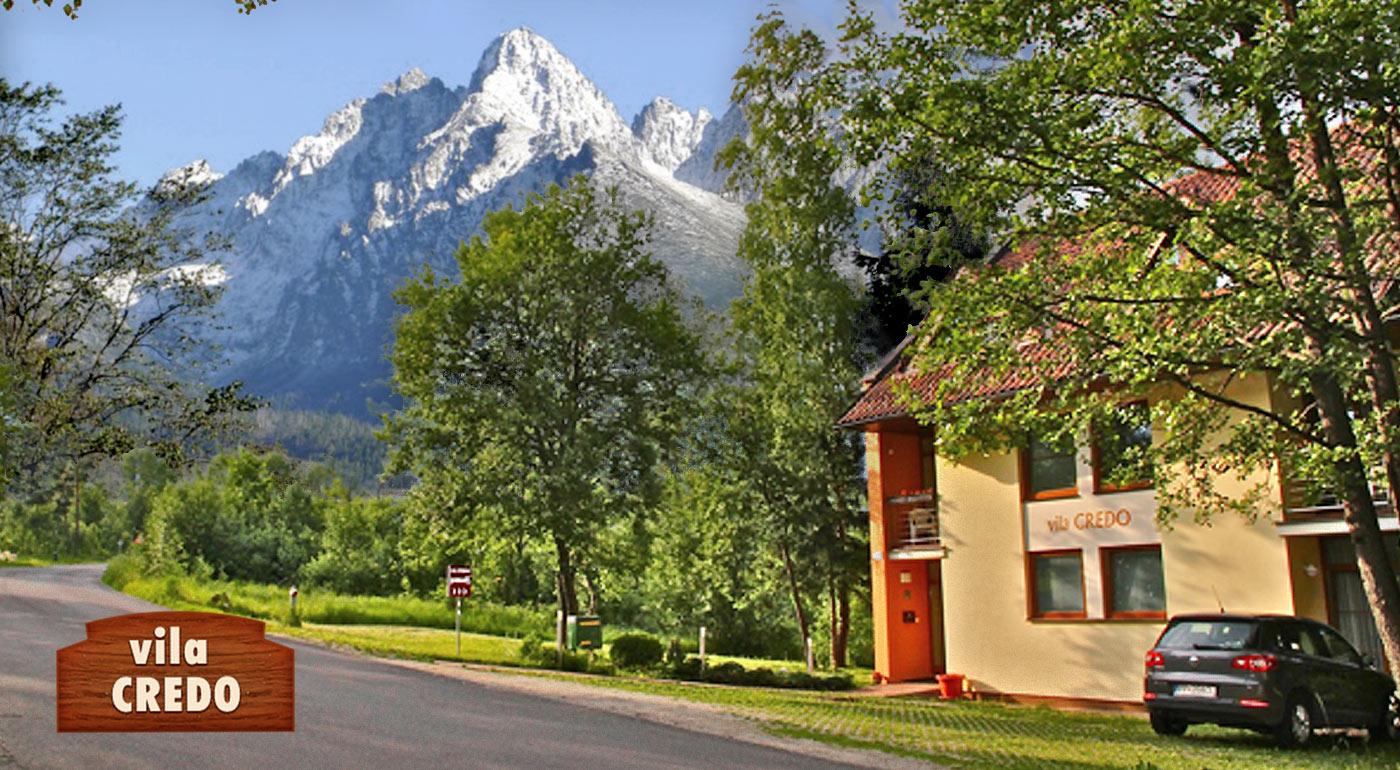 Pobyt na 4 alebo 5 dní vo Vile Credo v Tatranskom národnom parku