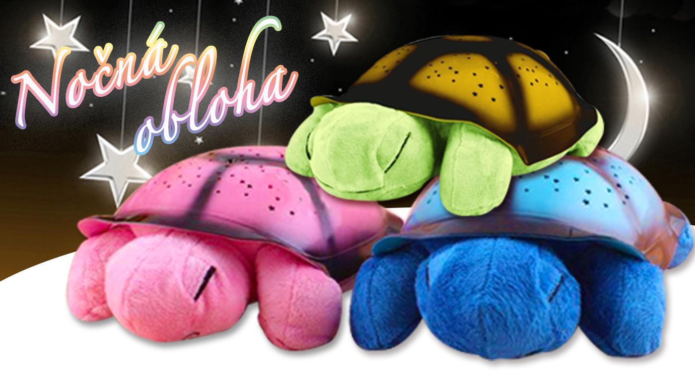 Roztomilá svietiaca a hrajúca korytnačka pre vašich drobcov