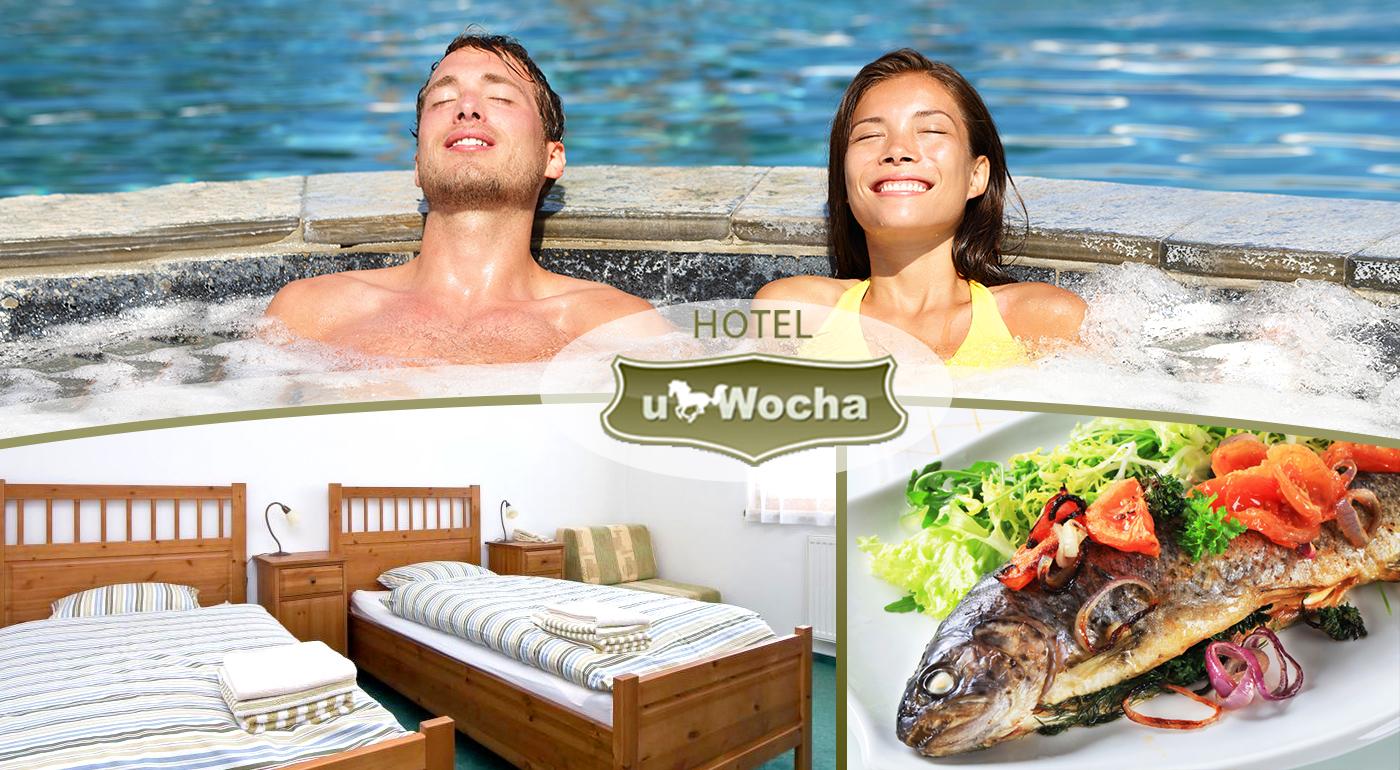 Rodinný víkend plný zábavy v Senci - pobyt v Hoteli u Wocha*** so vstupom do wellness aquaparku Senec