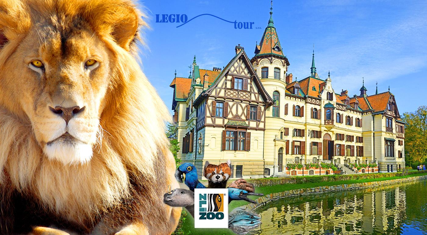 Fantastický výlet do obrovskej ZOO Zlín a prekrásneho zámku Lešná v Čechách!