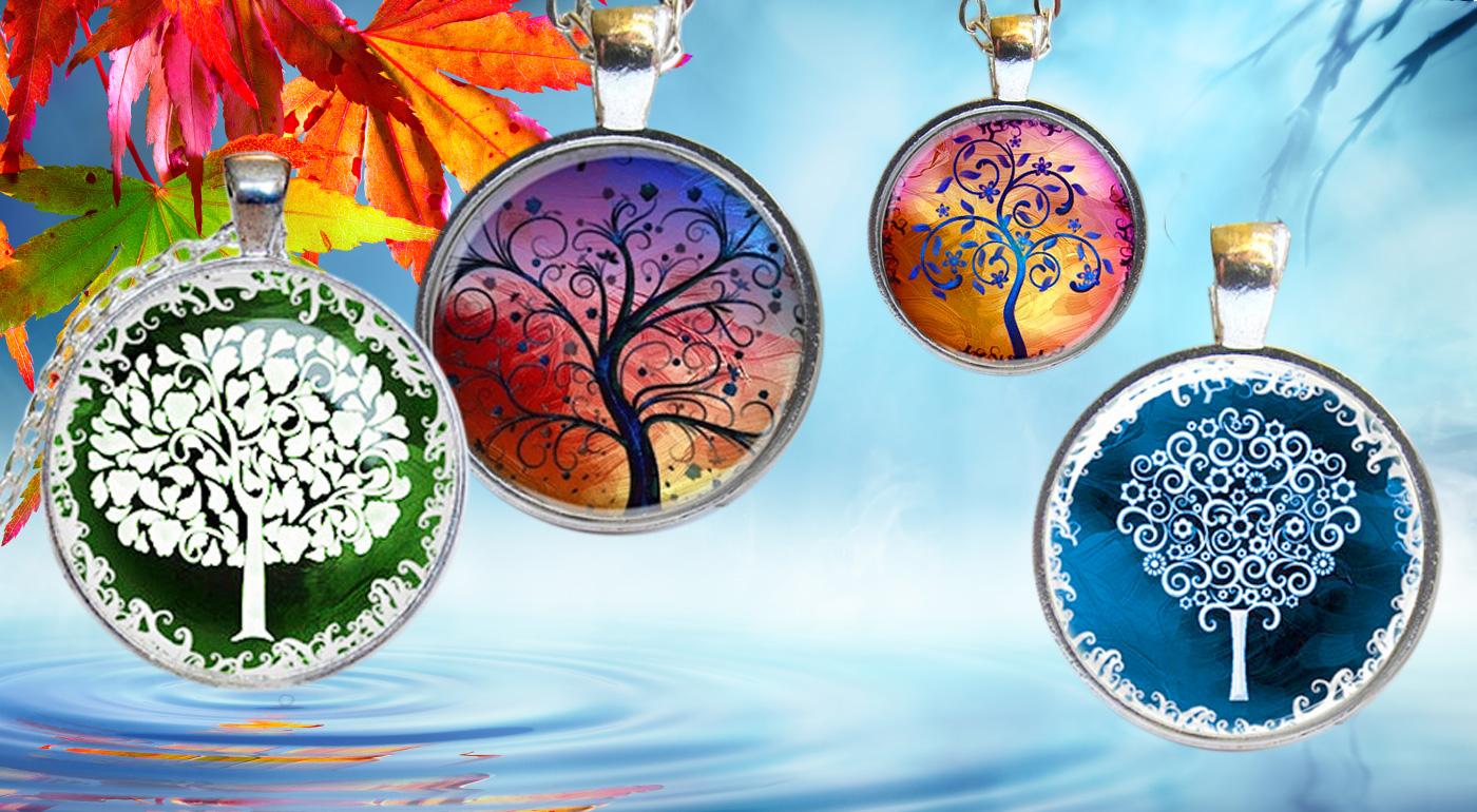 Čarovný dámsky strieborný prívesok Strom života s retiazkou