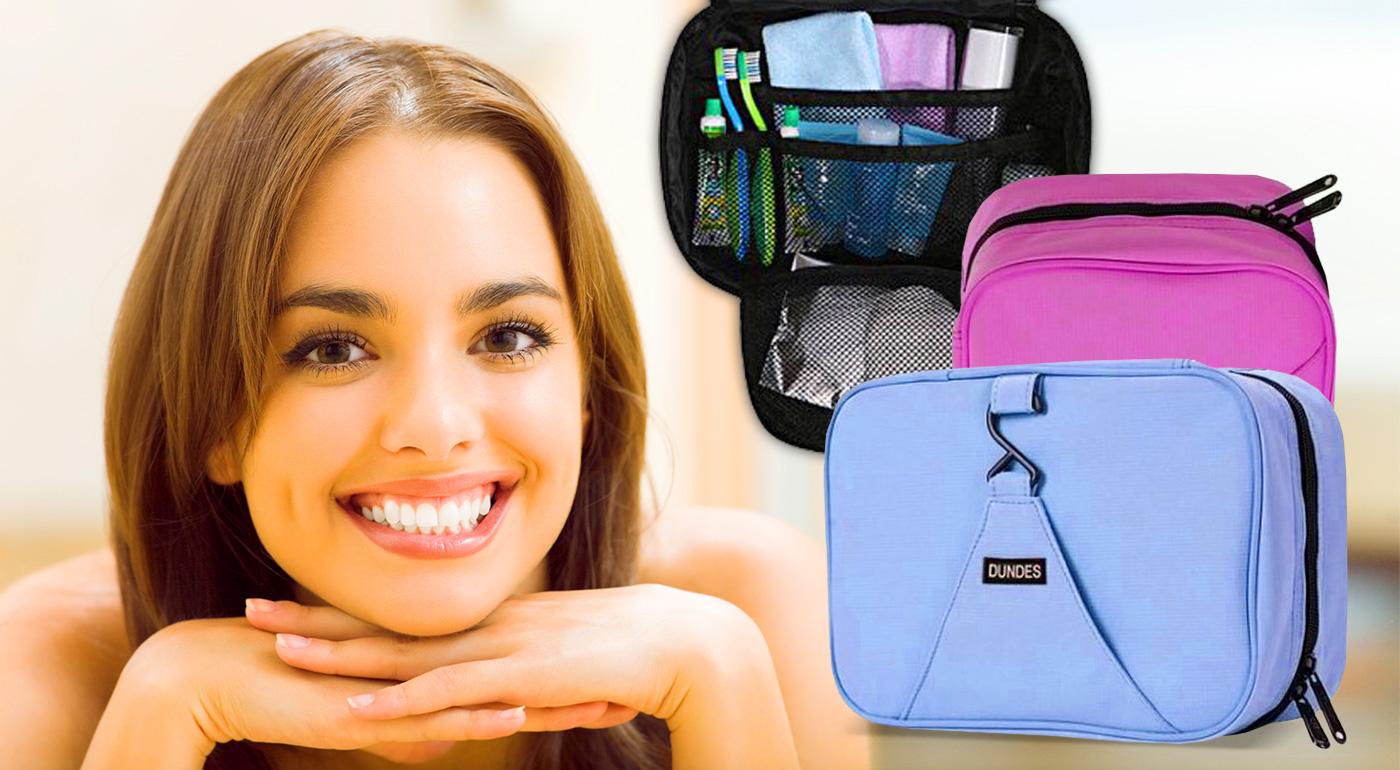 Poriadok a prehľad vo vašej kozmetike zabezpečí šikovný, skladný a zavesiteľný organizér