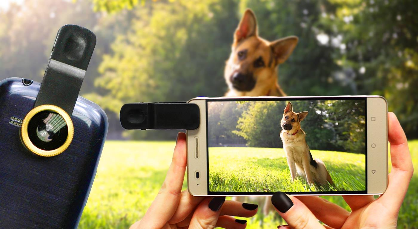 Sada objektívov s univerzálnym klipom pre váš mobil, tablet či foťák a jedinečné fotografie