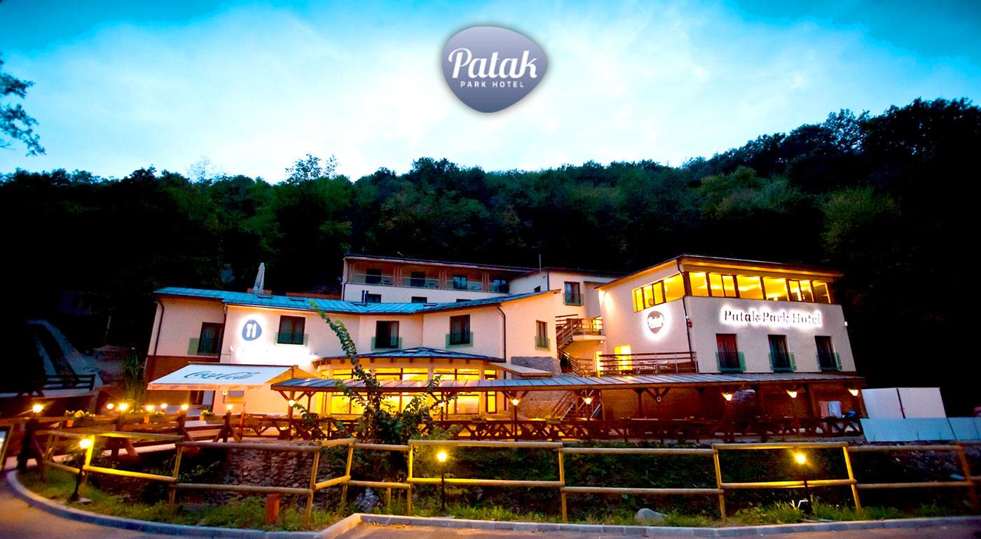 Wellness pobyt v Hoteli Patak Park v malebnom Vyšehrade s polpenziou