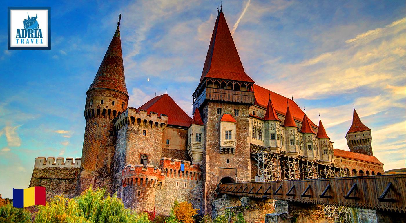 Po stopách grófa Drakulu do nádhernej Transylvánie v Rumunsku