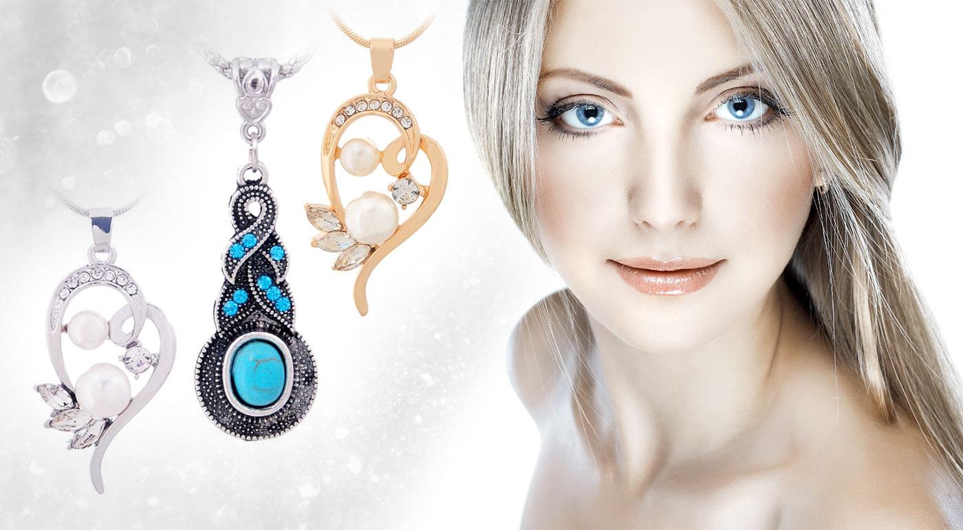 Nádherný set šperkov v rôznych štýloch - vyberte si ten svoj!