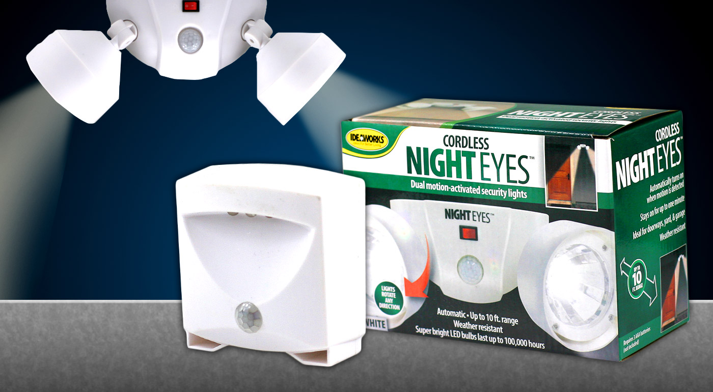 LED núdzové svetlá so senzorom pohybu do vašej domácnosti