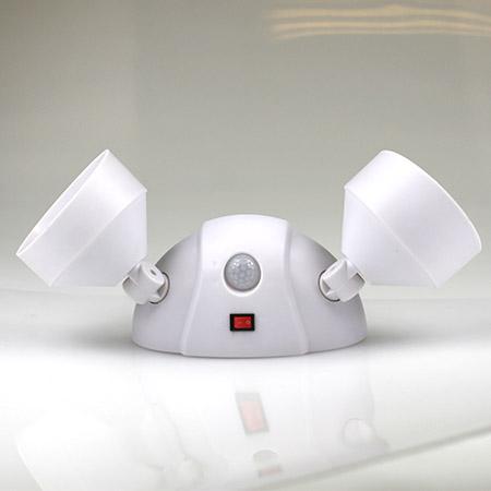 Duálne LED diódové senzorové osvetlenie Cordless night eyes