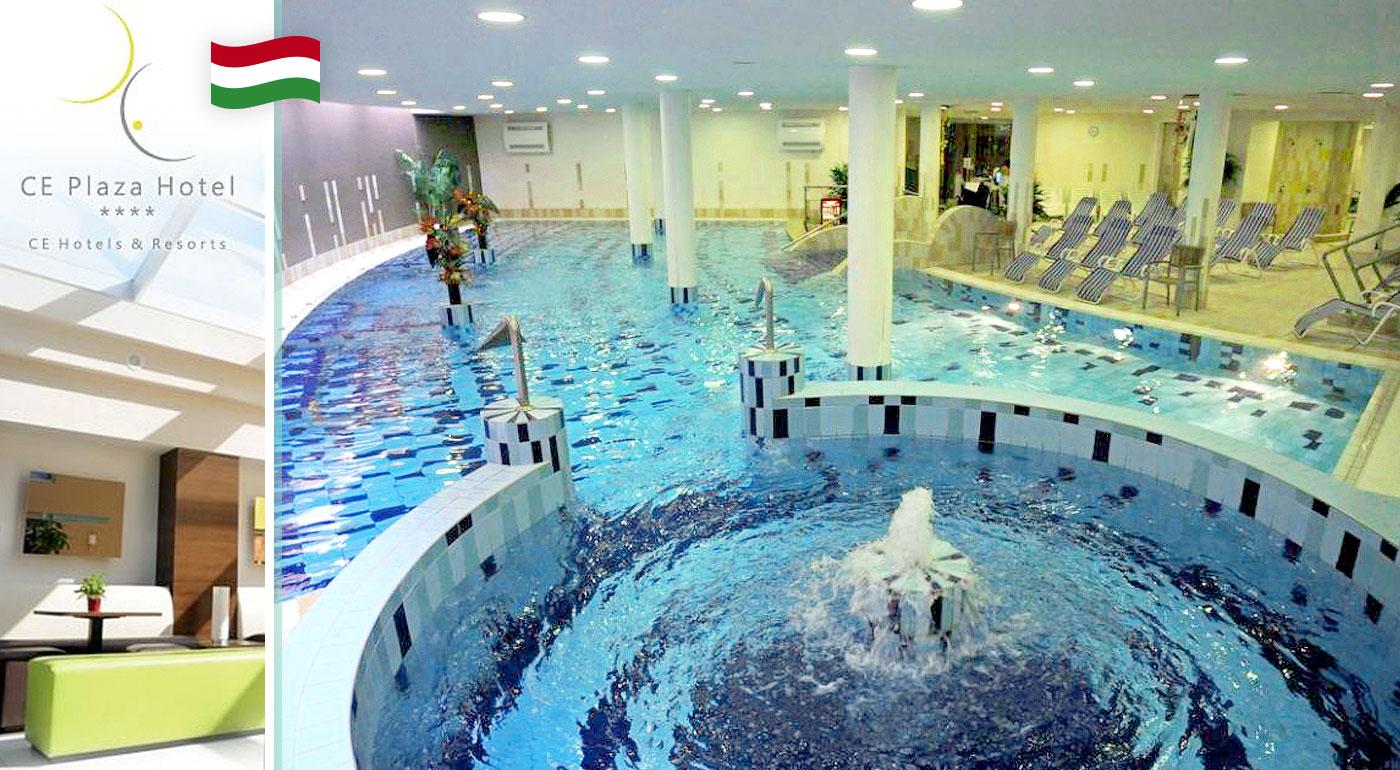 Zrelaxujte vo dvojici na 3 dni pri jazere Balaton v Maďarsku v CE Plaza Hotel****