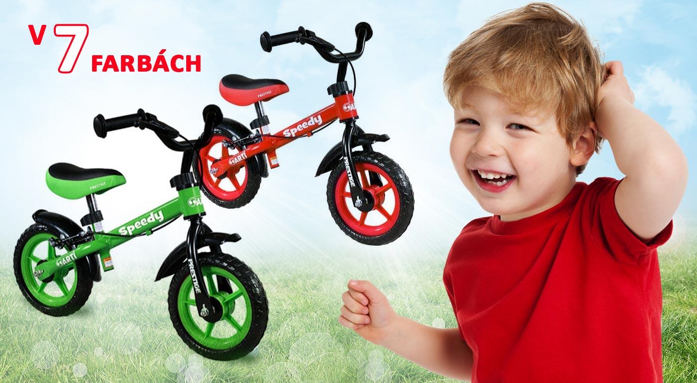 Detské odrážadlá ARTI Speedy s najlepšou cenou na trhu!