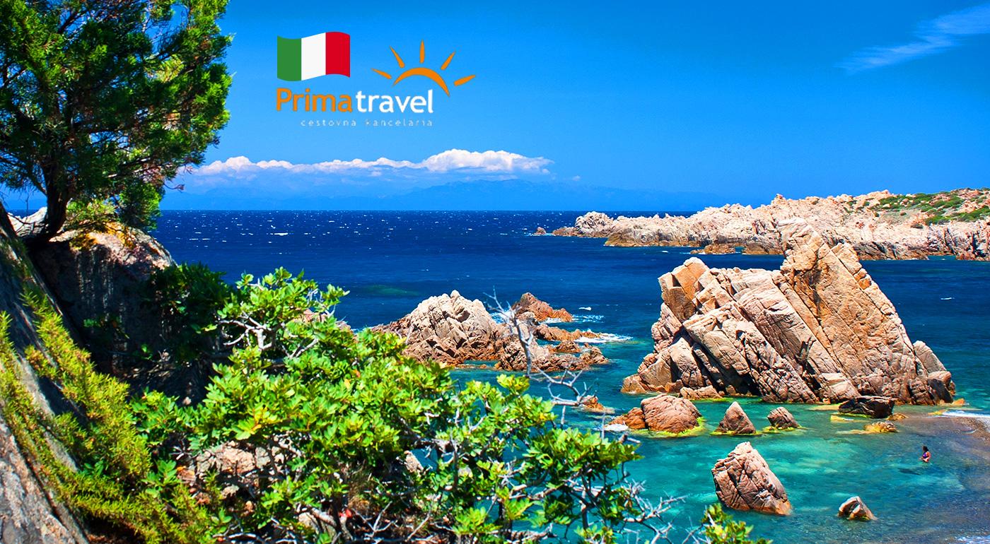 Magická Sardínia počas 6 dní s výletom na Korziku