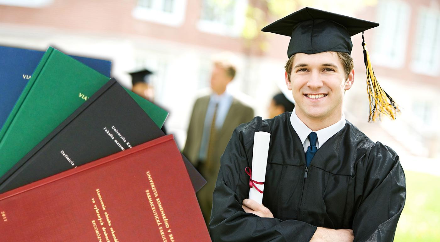 Expresné a profesionálne viazanie diplomových, bakalárskych či dizertačných prác