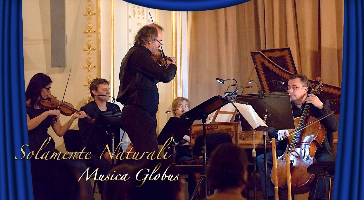 Vstupenky na koncert Musica Globus v Slovenskej filharmónii - večer barokových skladieb so súborom Solamente naturali
