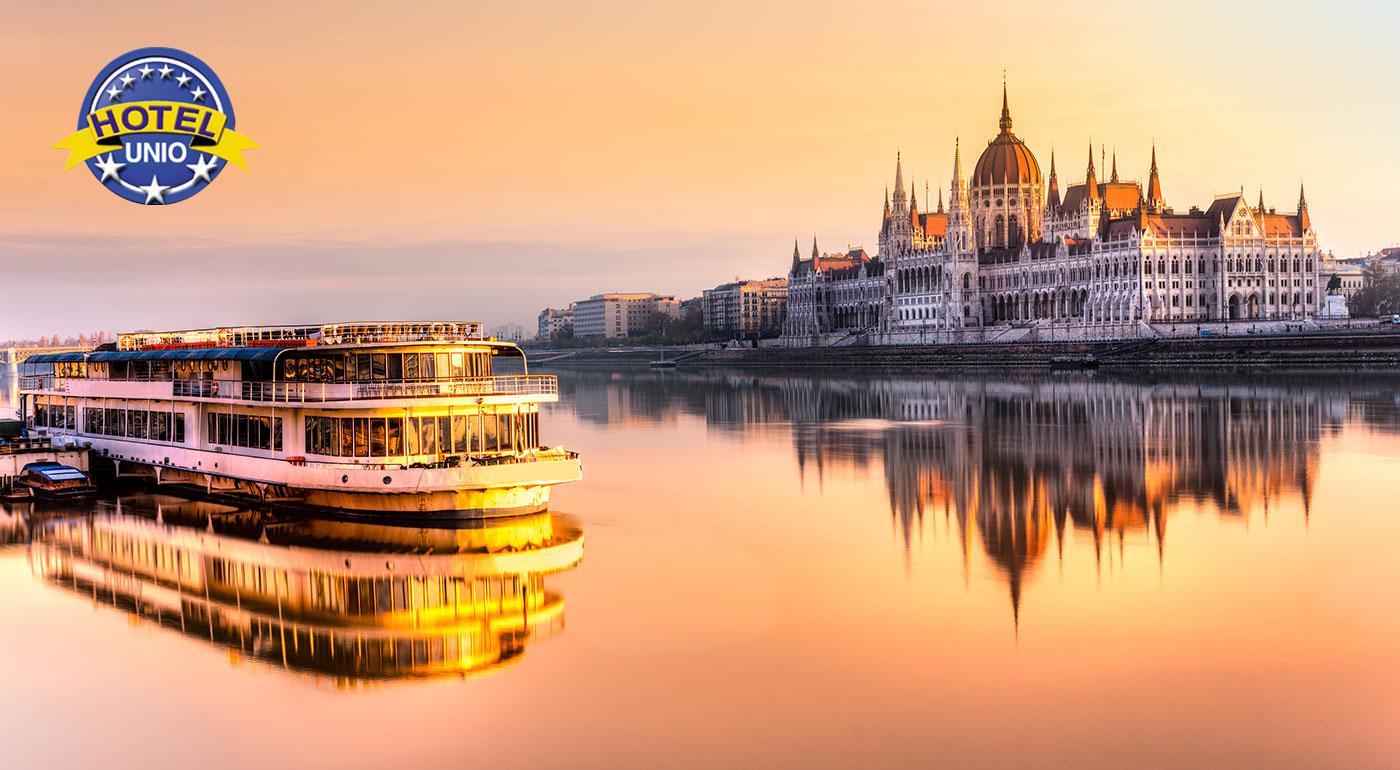 Komfortný City Hotel Unio*** v centre Budapešti pre dvoch vrátane bohatých raňajok