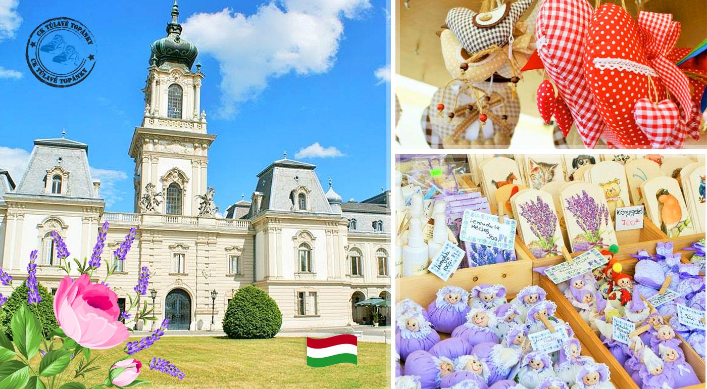 Jedinečný zájazd na levanduľový festival v dedinke Tihany na Balatone a návšteva romantického kaštieľa v Keszthely