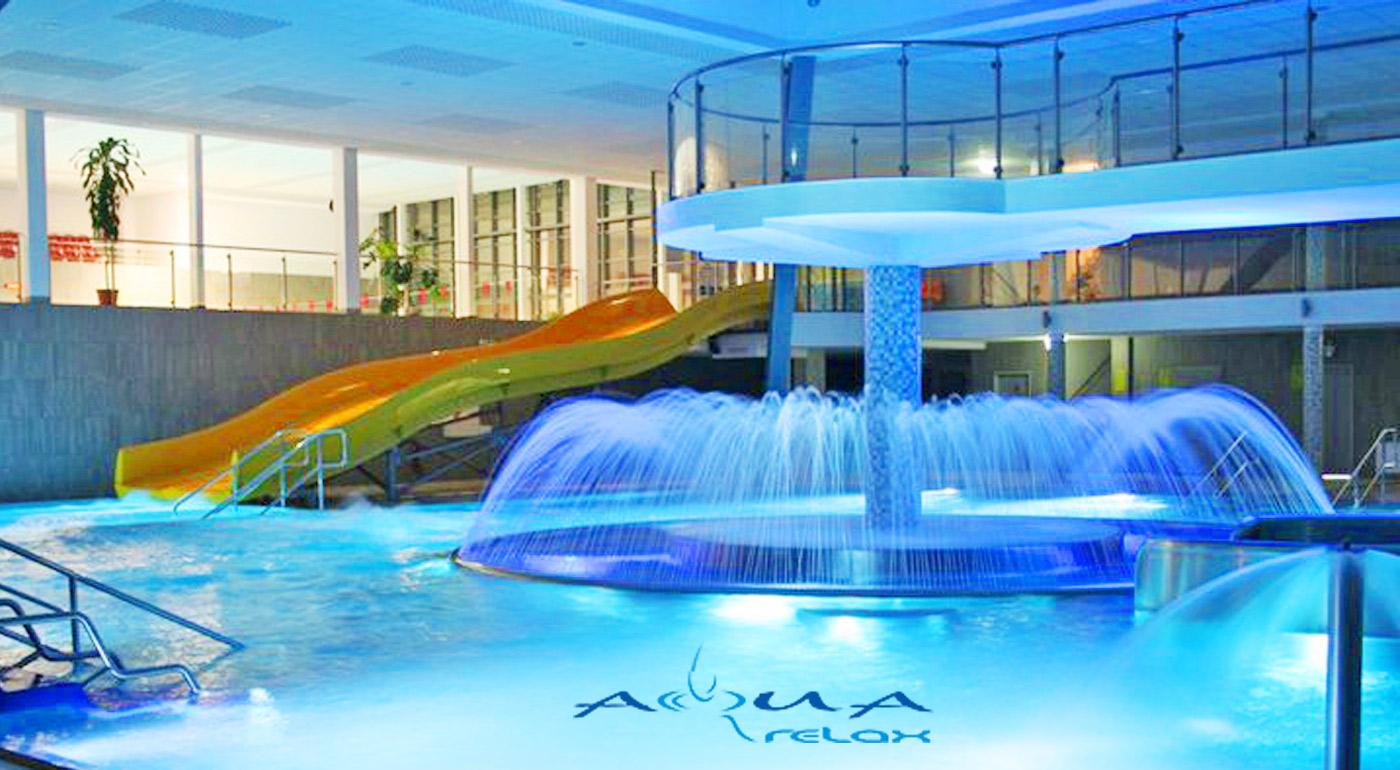 Celodenná zábava a oddych v Aquaparku AquaRelax v Dolnom Kubíne!