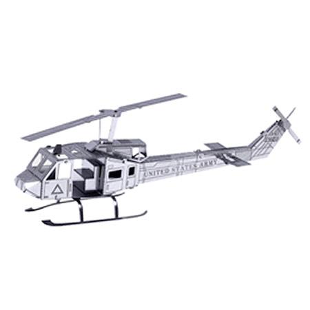 3D kovové puzzle - vrtuľník