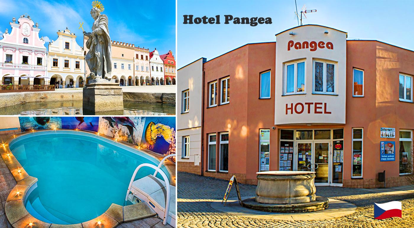 Objavte krásu historického mesta Telč počas 3 dní v Hoteli Pangea***