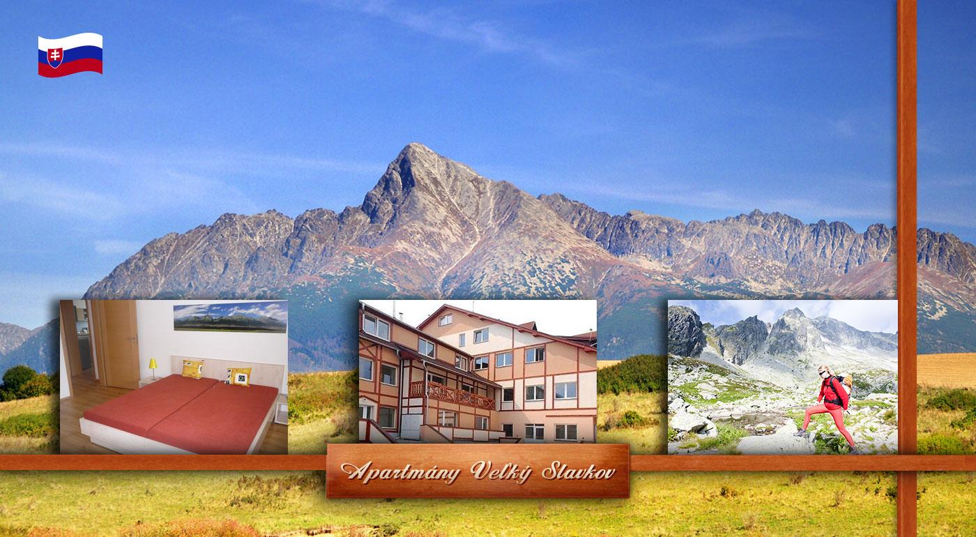 Jarná dovolenka vo Vysokých Tatrách - ubytovanie v apartmánoch pre 2 až 4 osoby na 5 dní