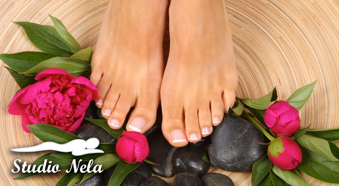 Gélové nechty na nohách pre 1 osobu