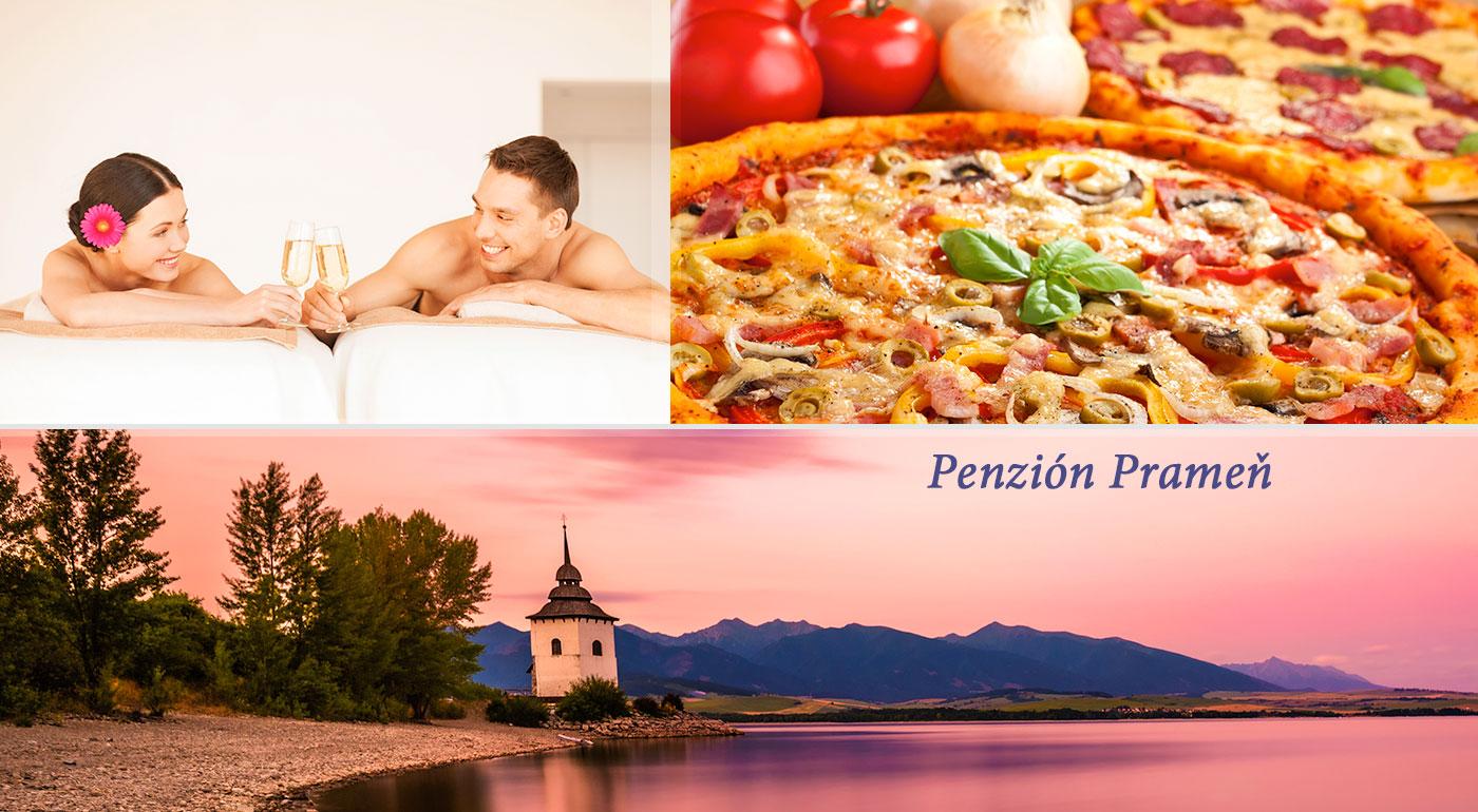 Oddychujte na Liptove v útulnom Penzióne Prameň vrátane stravy, masáže a wellness - dieťa do 3 rokov zadarmo!