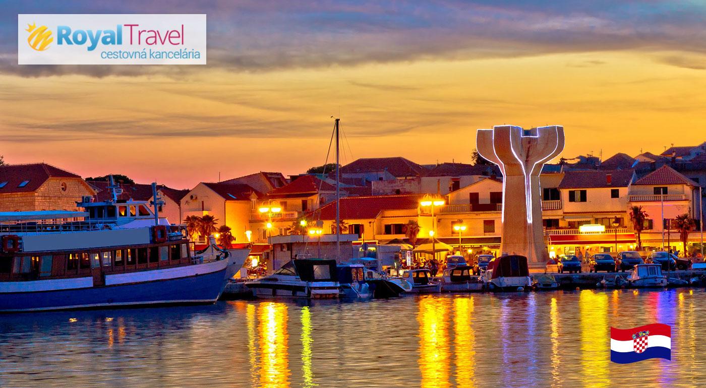 Slnečné Chorvátsko s ubytovaním blízko pláže - Plitvické jazerá, čarovný Záhreb a kúpanie vo Vodiciach počas 5 super letných dní