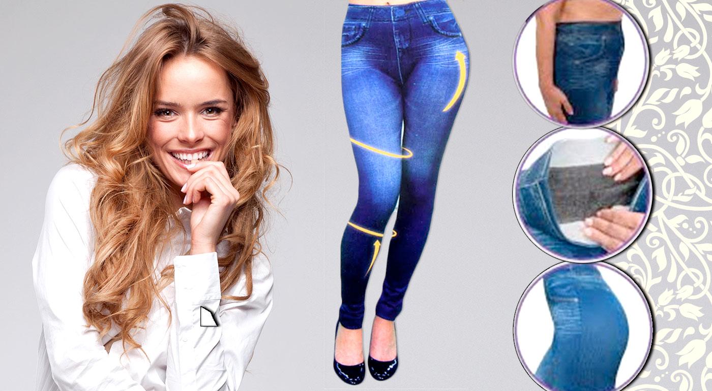 Sexy zoštíhľujúce legíny s džínsovým vzorom v 3 farbách!