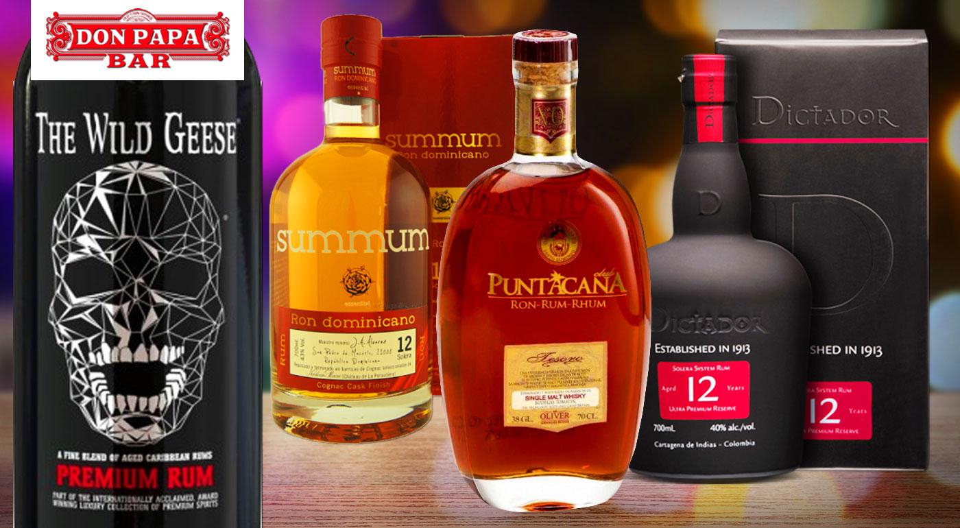 Harmónia exotických chutí v obľúbenom Don Papa - ochutnávka 8 prémiových rumov z celého sveta