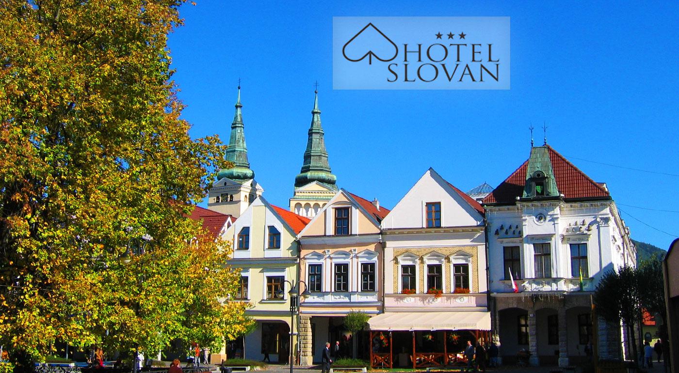 Hotel Slovan*** v centre Žiliny - doprajte si pár dní oddychu v dvojlôžkovej izbe alebo apartmáne s vodnou posteľou