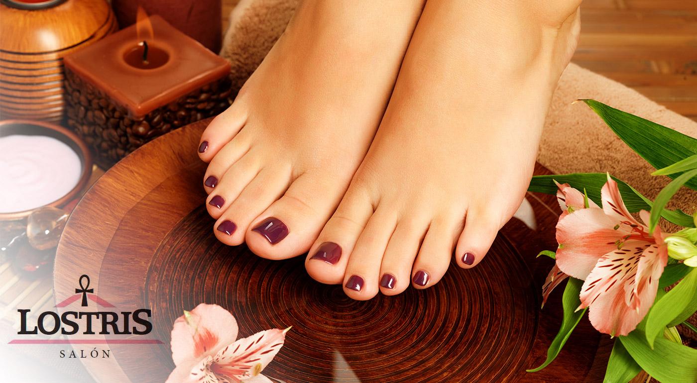 Kompletná starostlivosť o chodidlá, vrátane masáže a úpravy nechtov