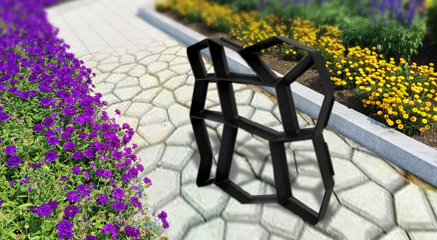 Forma na štýlový chodník do vašej záhrady