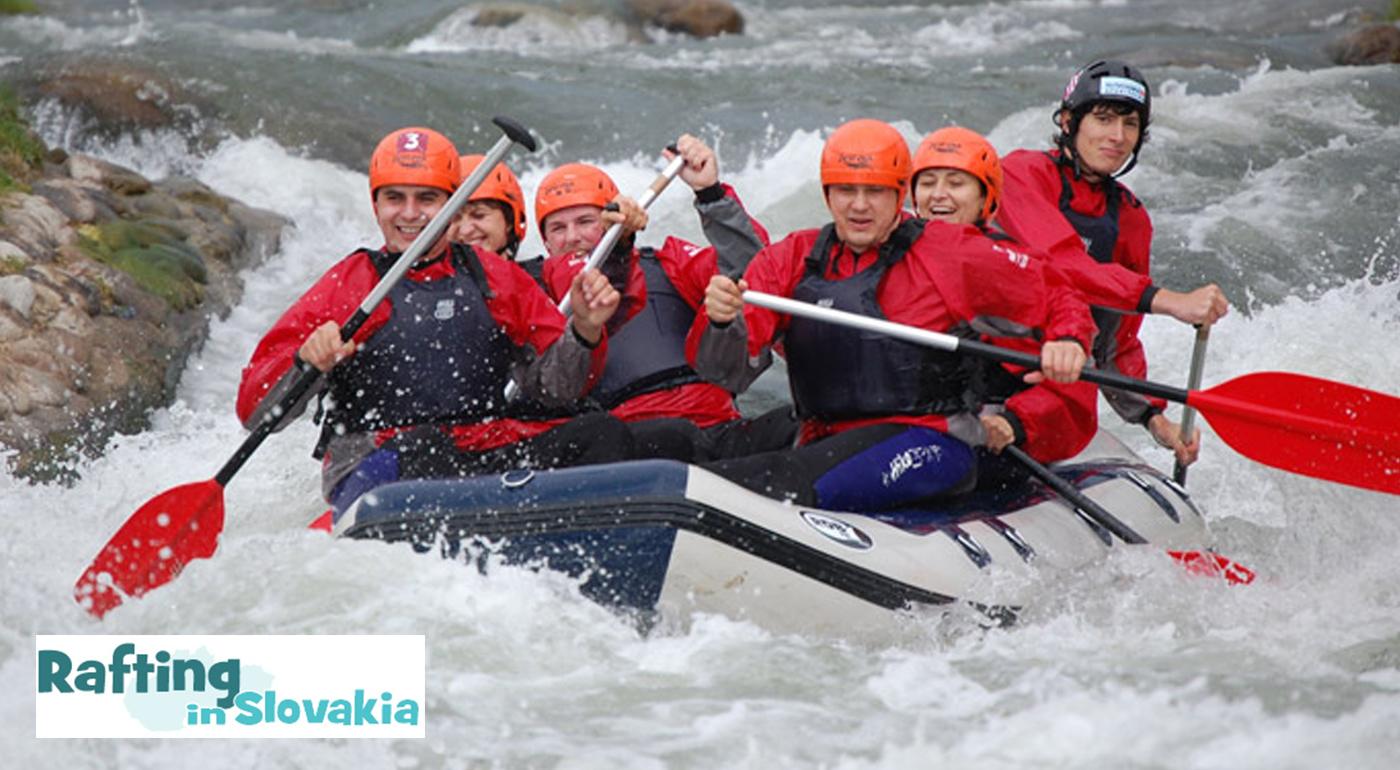 Adrenalín na vode - splav divokej rieky Belá, pokojný splav rieky Váh alebo adrenalínový raft v umelom kanáli v Liptovskom Mikuláši