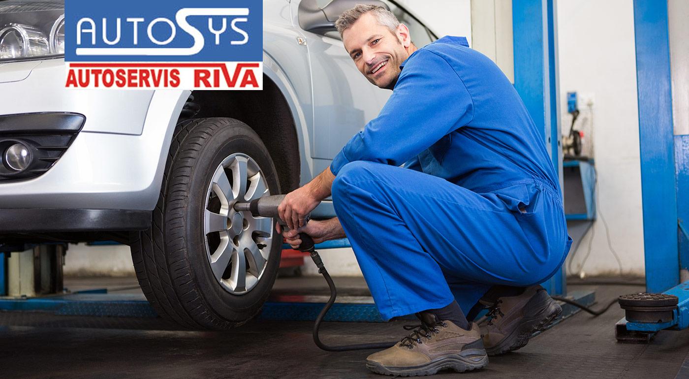 Výmena zimných pneumatík za letné vrátane vyváženia a vizuálnej kontroly vozidla v bratislavskom Lamači
