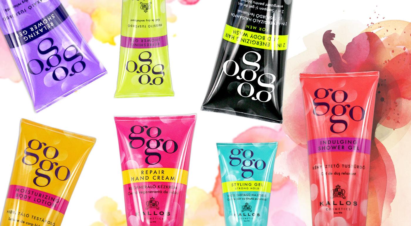 Balíček voňavých kozmetických prípravkov KALLOS Gogo