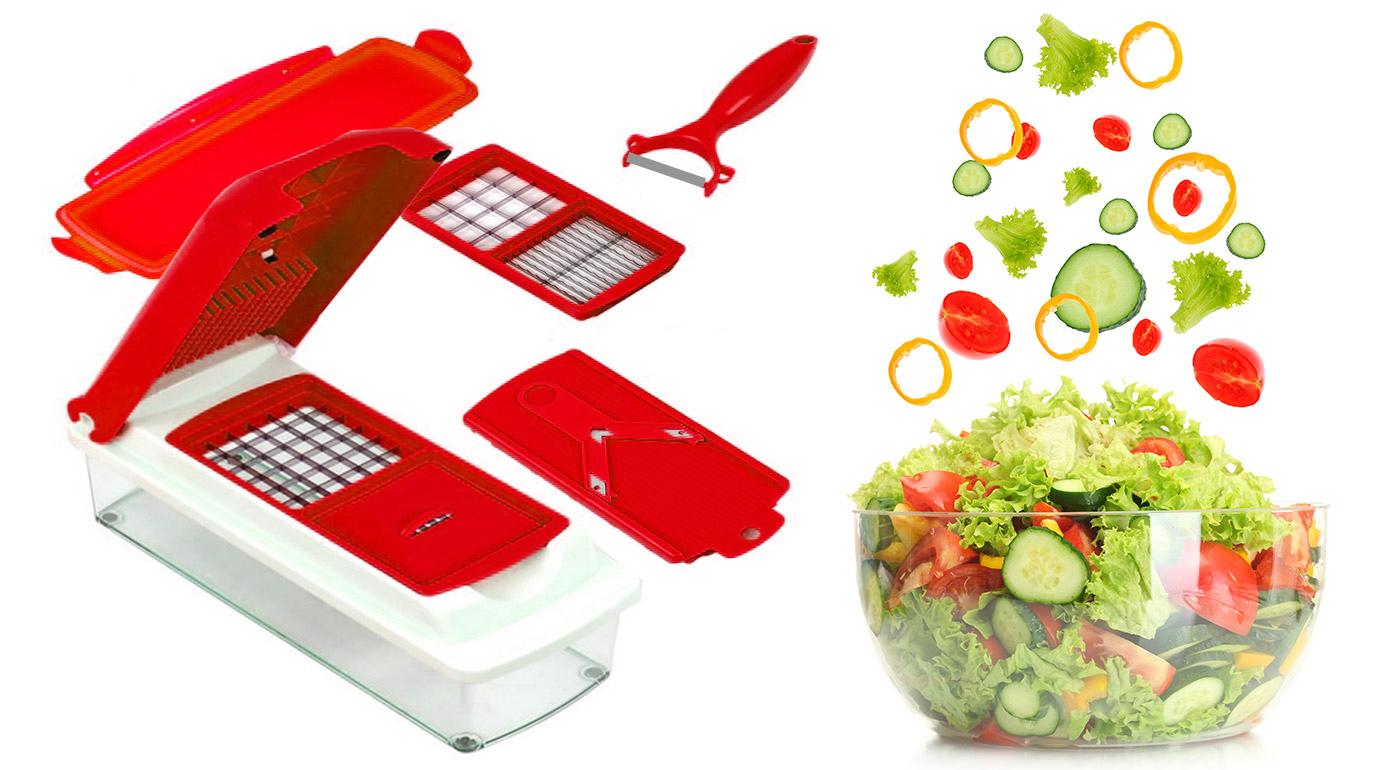 Univerzálny kuchynský krájač - praktický pomocník aj do vašej kuchyne