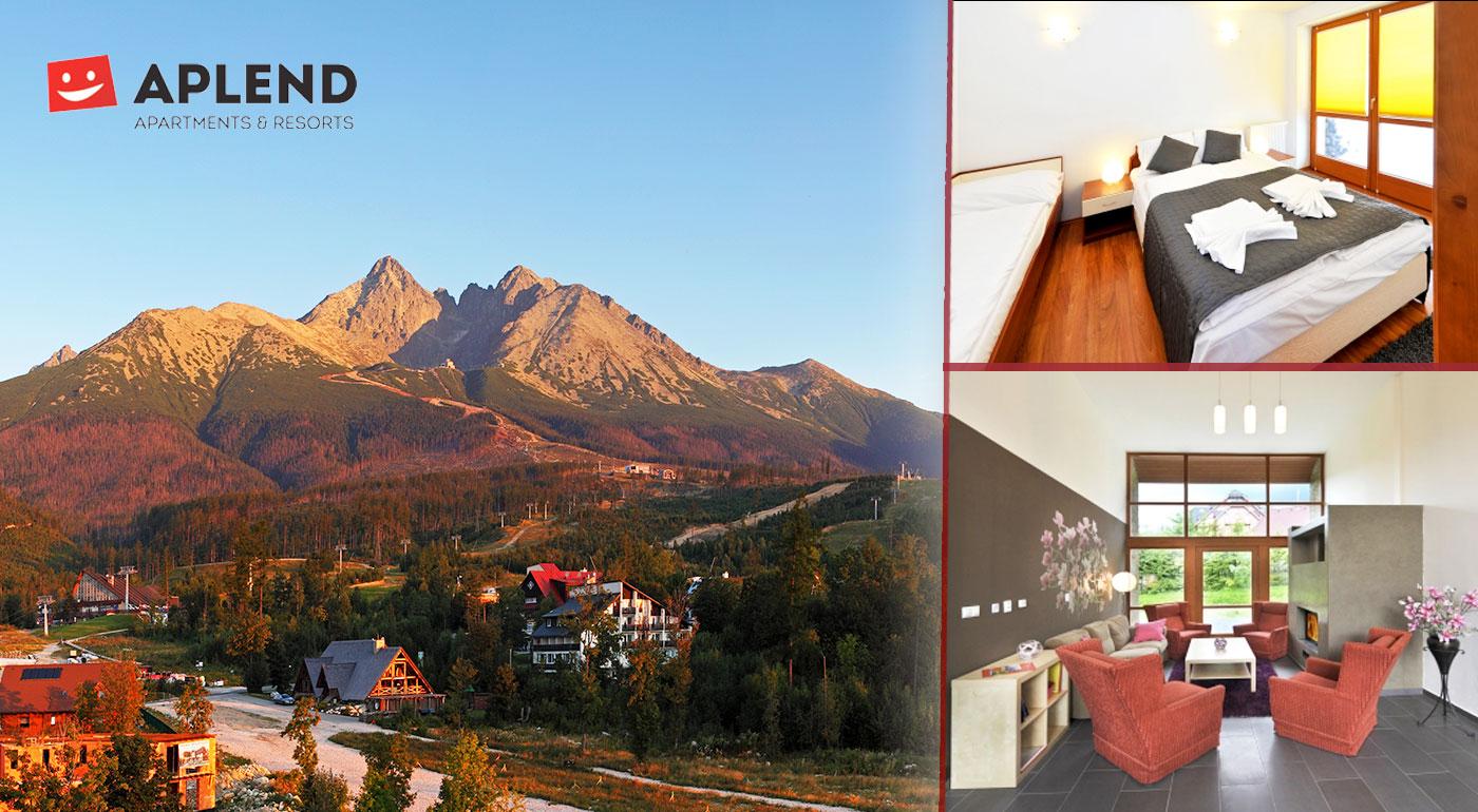 Jar v Tatranskej Lomnici v štúdiách alebo apartmánoch v Resorte Beatrice