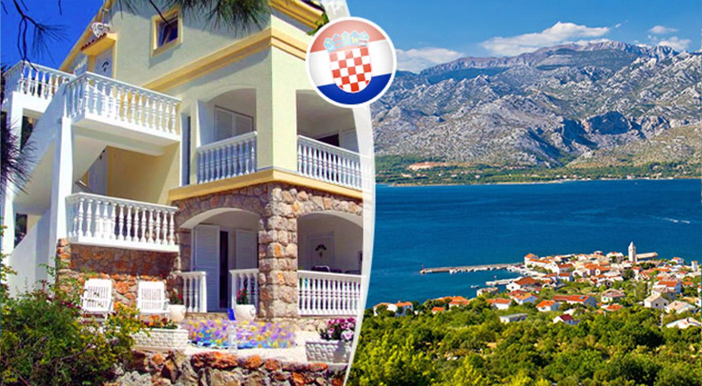 Osemdňová letná dovolenka v slnečnom Chorvátsku s polpenziou