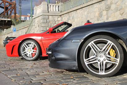 jazda na Ferrari