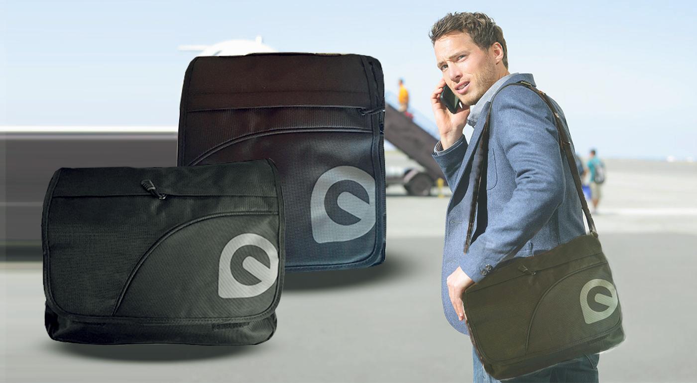 Moderná športová pánska taška cez rameno - na výber až 2 modely